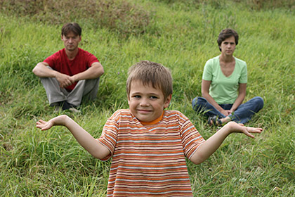 Children and Public Law; a confused child with separated parents